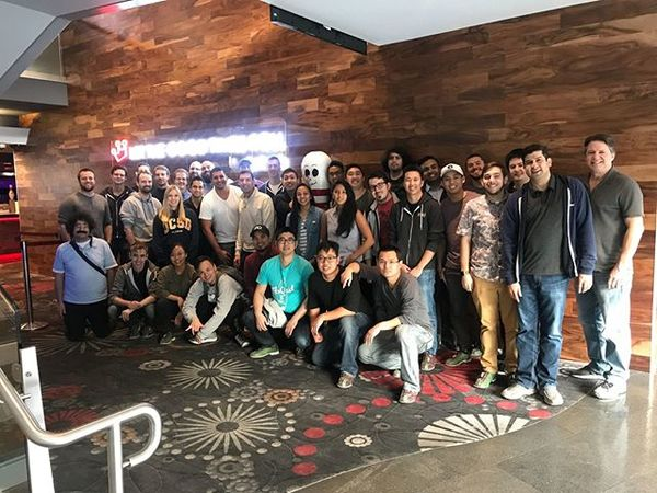 FloQast's R&D team celebrated the start of 2019 with a little bowling excursion 🎳
