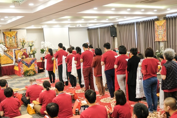 Mahāmudrā Retreat Led By Phakchok Rinpoche in HCMC