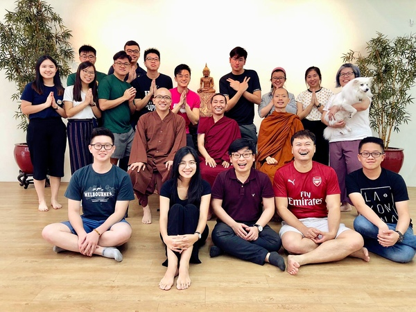 Tulku Migmar Tsering in Singapore