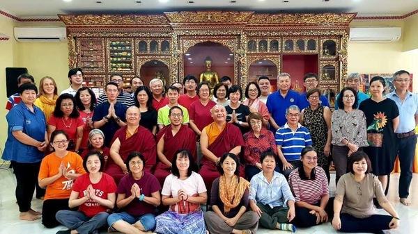 Khenpo Gyaltsen in Kualar Lumpur