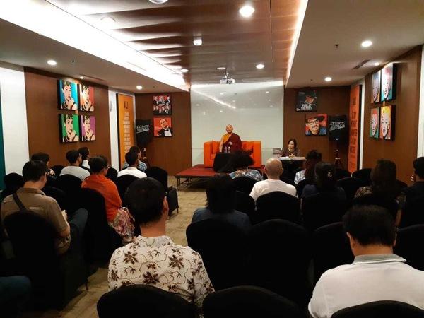 Khenpo Gyaltsen in Bali