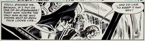 Jim Aparo - Batman Original Art