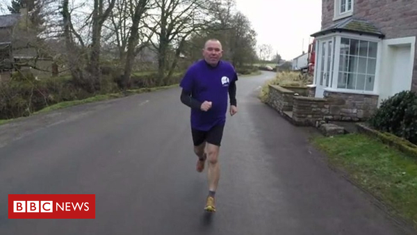 Father to run in daughter's place after her death (BBC News)