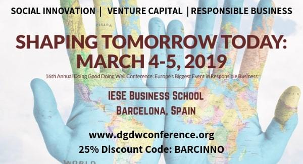 Love social innovation? Join the DGDW 2019 Responsible Business Conference on March 4-5!