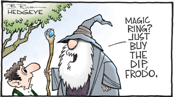 When Gandalf asks you to buy the dip, you buy the dip