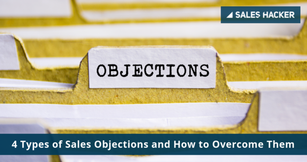 4 Types of Sales Objections
