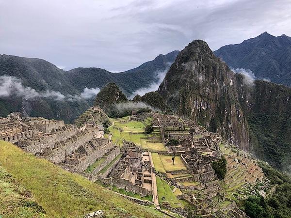 Een of andere ruïne in Peru