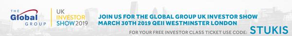 UK Investor Show 2019 - Free ticket using code STUKIS
