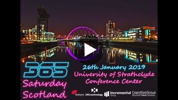 Dynamics 365 Saturday Scotland 2019 - Grant Application Management