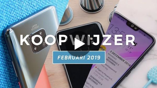Dit zijn de beste smartphones van februari 2019 - Telekoopwijzer