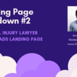 [Landing Page Teardown] Personal Injury Lawyer Google Ads Landing Page - Tars Blog