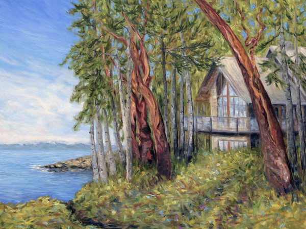 Sailing Through The Trees – almost a finish | Creative Potager