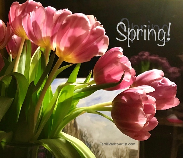 Spring Intentions by Terrill Welch