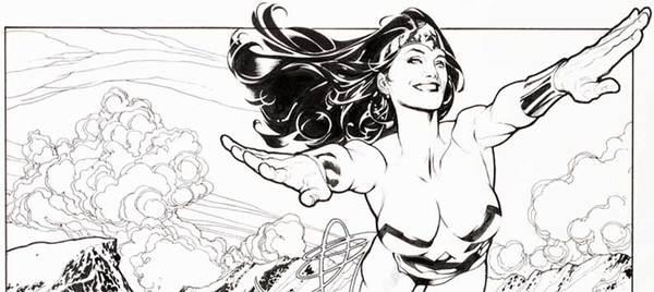 Adam Hughes - Wonder Woman Original Art