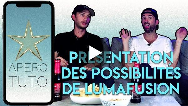 Présentation des Possibilités de LumaFusion sur iOS - TUTO