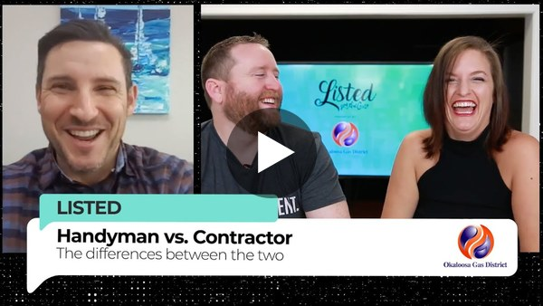 The difference between a Handyman vs. Contractor