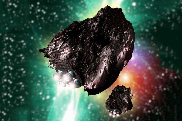 Here's how we could turn an asteroid into a space station | New Scientist