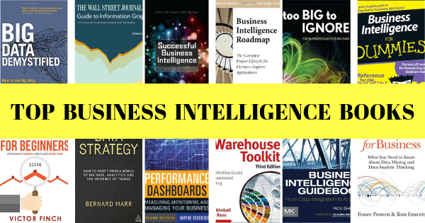 12 Best Business Intelligence Books To Get You Off the Ground With BI