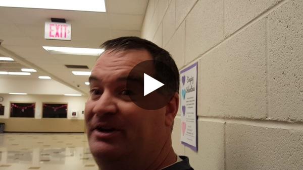 University boys basketball coach Bobby Ervin talks about freshman Tayt Chacon's immediate impact.