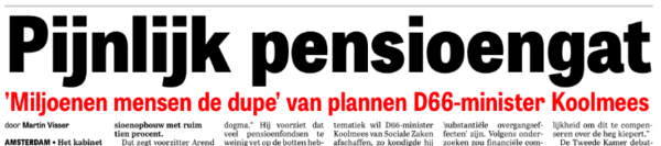 'D66-dogma'