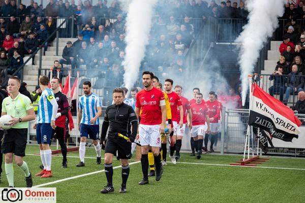 De derby en topper NIVO Sparta-Roda Boys kreeg geen winnaar. Klik op de foto (Marco Oomen) voor het verslag.