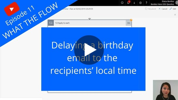 Delaying a birthday email to the recipients' local time