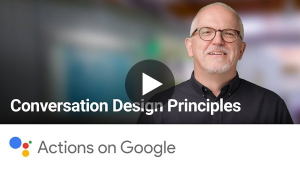 Conversation Design Principles - Lightning Talk with Peter Hodgson
