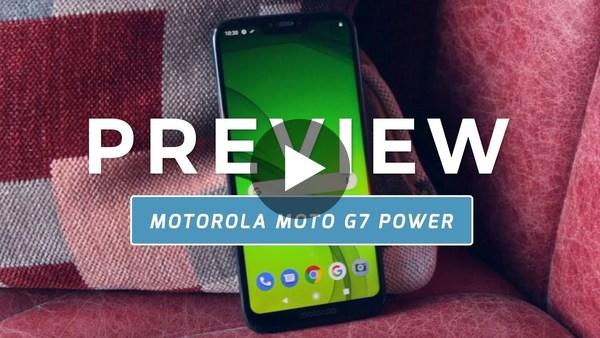 Motorola Moto G7 Power preview (Dutch)