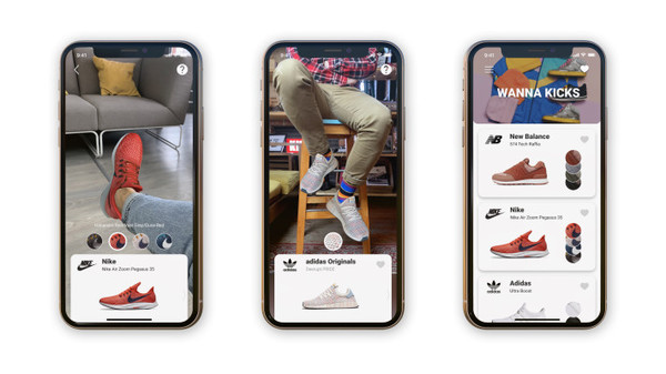 Wanna Kicks, a new AR app from Wannaby, lets you virtually 'try on' your next pair of kicks – TechCrunch