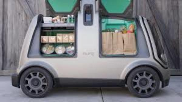 Their first step is a self-driving vehicle for local goods transportation
