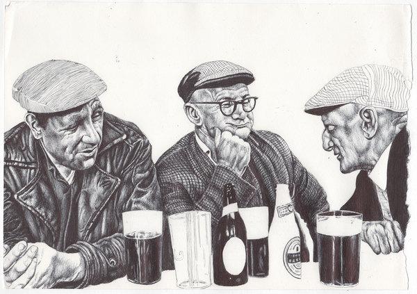 wonderful work by artist Mark Powell