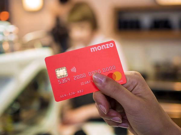 Monzo - od niedawna najlepiej oceniany bank w UK