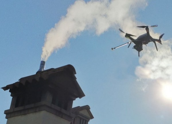 Italian researchers use drones to pinpoint air polluters