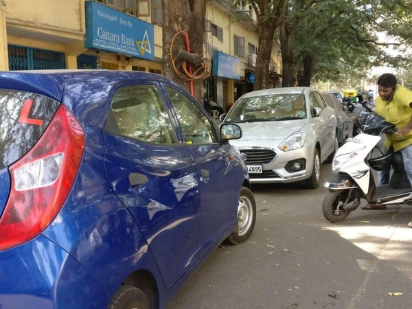 Bengaluru saves road space by incentivising smaller cars