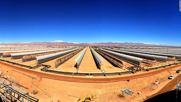 World's largest solar farm in Morocco