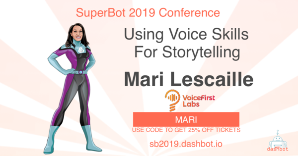 Join me at the SuperBot conference next April in SF.