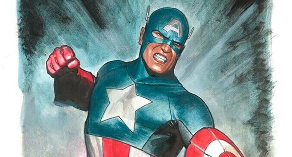 Adi Granov - Captain America Painted Original Art