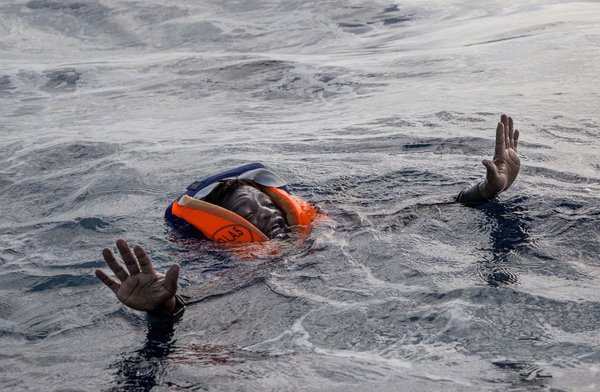 Diese Karte zeigt alle im Mittelmeer gestorbenen Flüchtlinge
