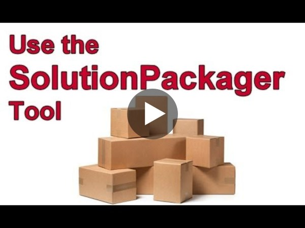 Dynamics 365 2MT Episode 57: Use the SolutionPackager tool!