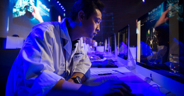 A.I. Shows Promise Assisting Physicians