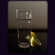 CodePen - Pure CSS Still Life - Water and Lemons