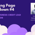 [Landing Page Teardown] CRO tips for Small Business Lenders