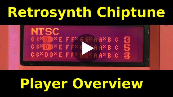 Retrosynth FPGA Multi Chiptune Synthesizer Overview