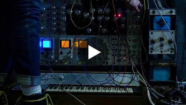 GAMEBOY TRIPLE OSCILLATOR modular synth arduinoboy video