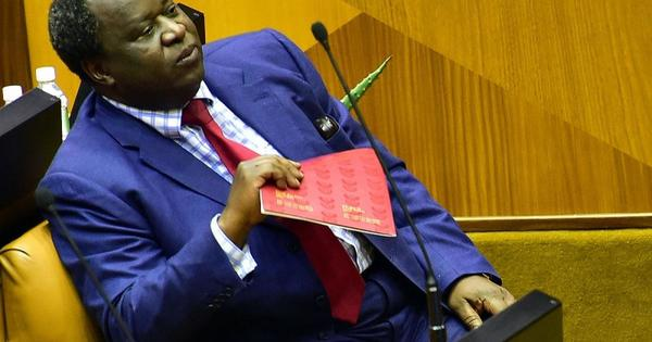 Opposition parties react to Mboweni's budget speech | eNCA