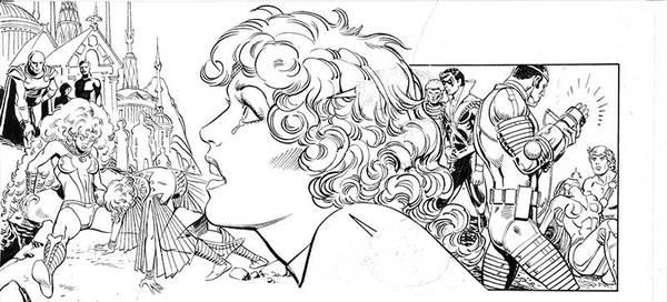 Jose Luis Garcia Lopez - Teen Titans Original Art