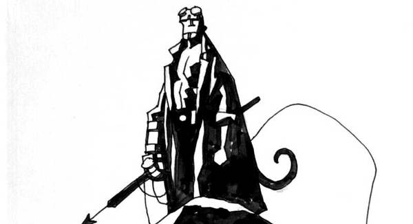 Mike Mignola - Hellboy Original Comic Art