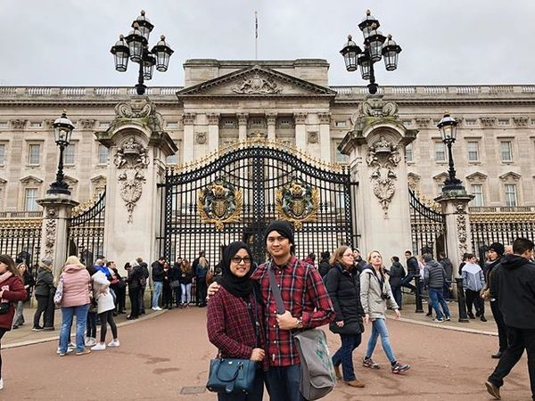 Aiman & I took a trip down to London last weekend for a short getaway.