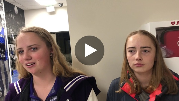Estes Park's sister duo of Ruth and Bella Walker talk about their injuries, the recovery process and next season.
