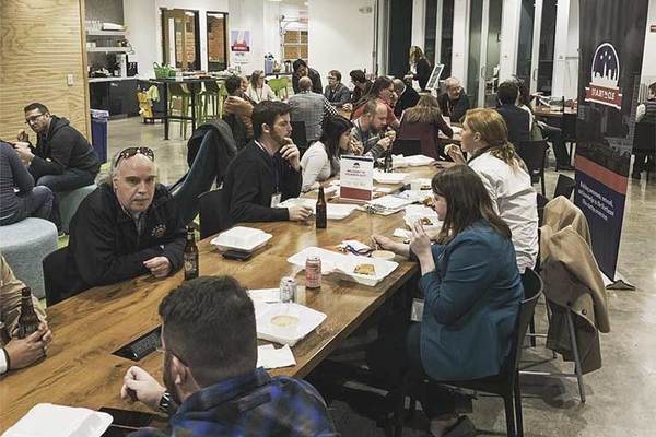 There's a not-so-secret society of entrepreneurs taking shape in Cleveland